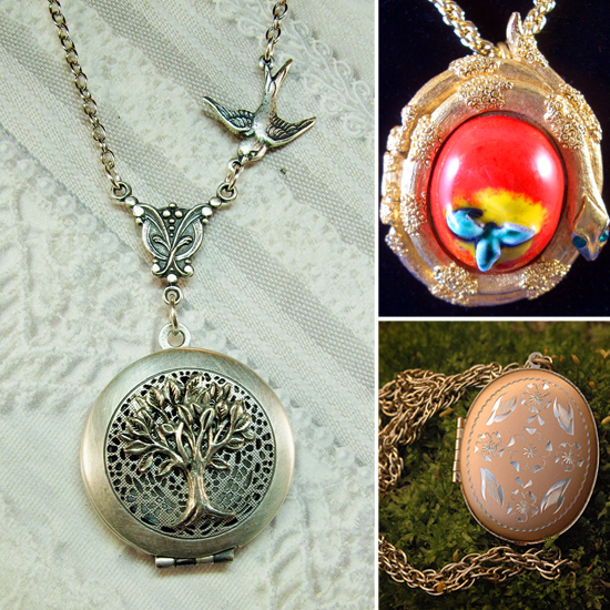 The 10 Prettiest Perfume Lockets in All of Etsy