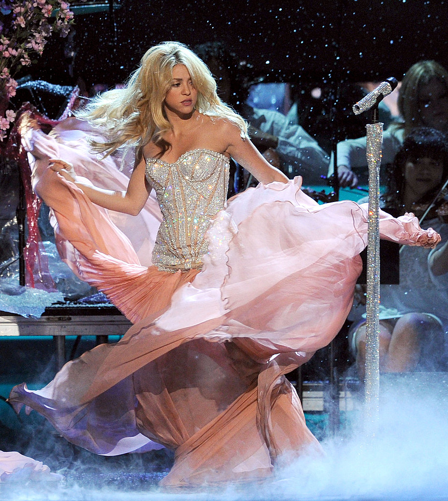 Shakira put on a show for viewers of the 2011 Latin Grammys.