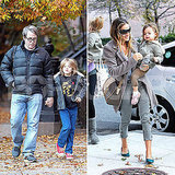 SJP and Matthew Get a Bright and Cheerful Jump on Veterans Day
