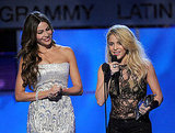 Sofia Vergara and Shakira had a moment together at the 12th annual Latin Grammy Awards.