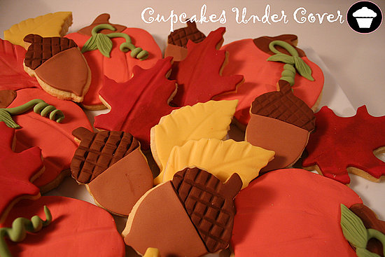 Autumn Cookie Smorgasbord