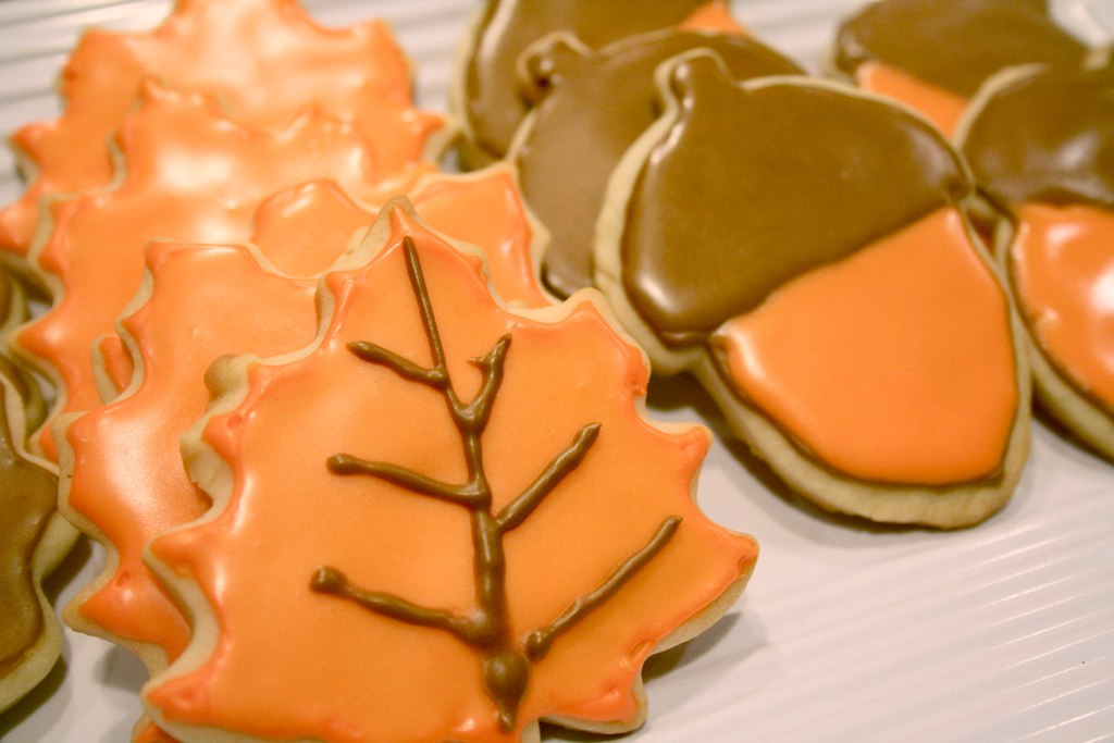 Autumnal Cookies