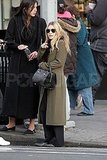 Ashley Olsen carried a bag from her new line for The Row.