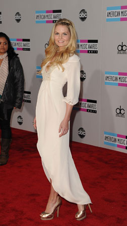 Once Upon a Time star Jennifer Morrison walked the red carpet.