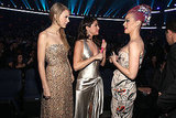 Taylor Swift, Katy Perry, and Selena Gomez met up at the 2011 American Music Awards.