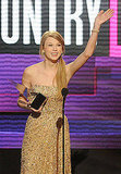 Taylor Swift took home an American Music Award.