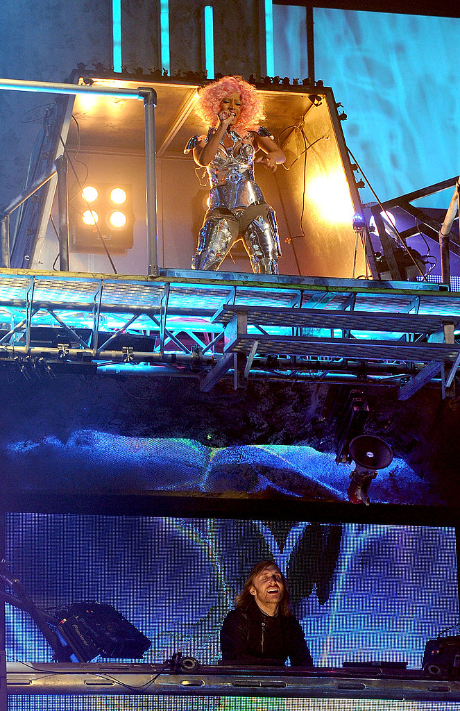 Nicki Minaj performed at the 2011 American Music Awards.