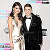 Justin Bieber &amp; Selena Gomez American Music Awards Pictures