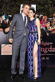 Robert Pattinson and Kristen Stewart Stick Together on Breaking Dawn Red Carpet