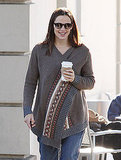 Jennifer Garner at Peet's Coffee Pictures