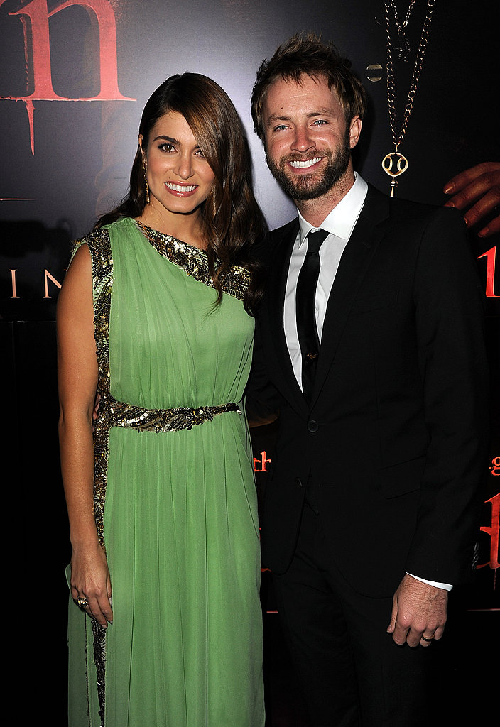 Nikki Reed brought her new husband Paul McDonald.