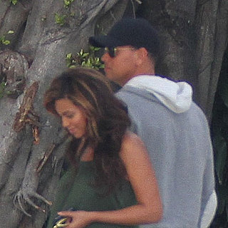 Pregnant Beyonce Knowles Pictures at Alex Rodriguez's House