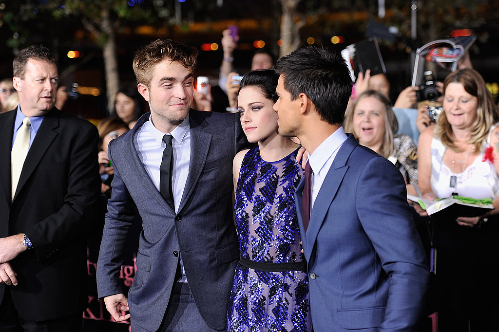 Robert and Taylor checked Kristen out.