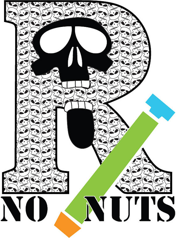 No Nuts Temporary Tattoo ($2)