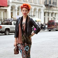 NYC Street Style Pictures and More News For Nov. 15, 2011