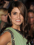 Nikki Reed's Chic Waves and Smoky Eye Makeup