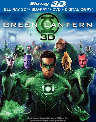 Green Lantern Three Disc DVD Combo ($35)