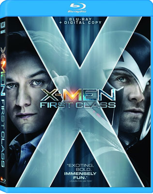X-Men: First Class Blu-ray DVD ($25)