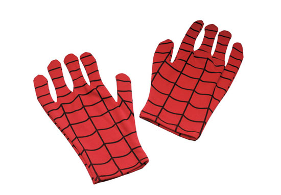 Spider-man Costume Gloves ($10)
