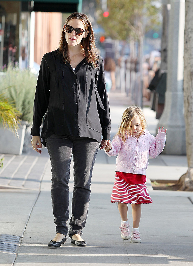 Jennifer Garner and Seraphina Affleck were too cute in LA.
