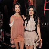 Kendall and Kylie Jenner at Forever 21 Hollywood