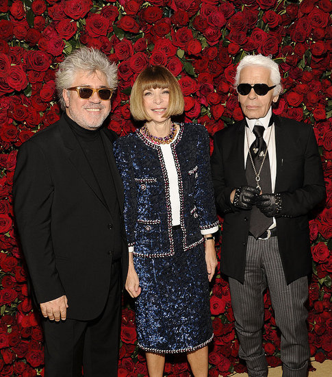 Karl Lagerfeld and Chanel Roll Out the Red Carpet at the 2011 MoMA Film Benefit