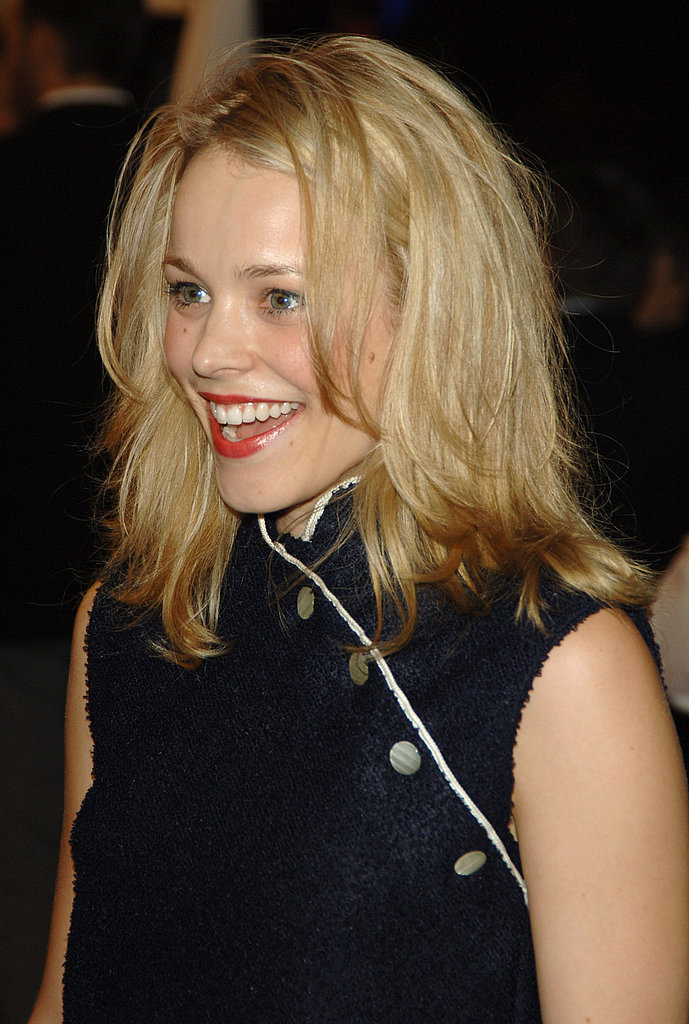 Rachel flashed a big grin at the Proof premiere in 2005.
