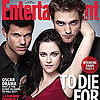 Robert Pattinson and Kristen Stewart Breaking Dawn EW Cover