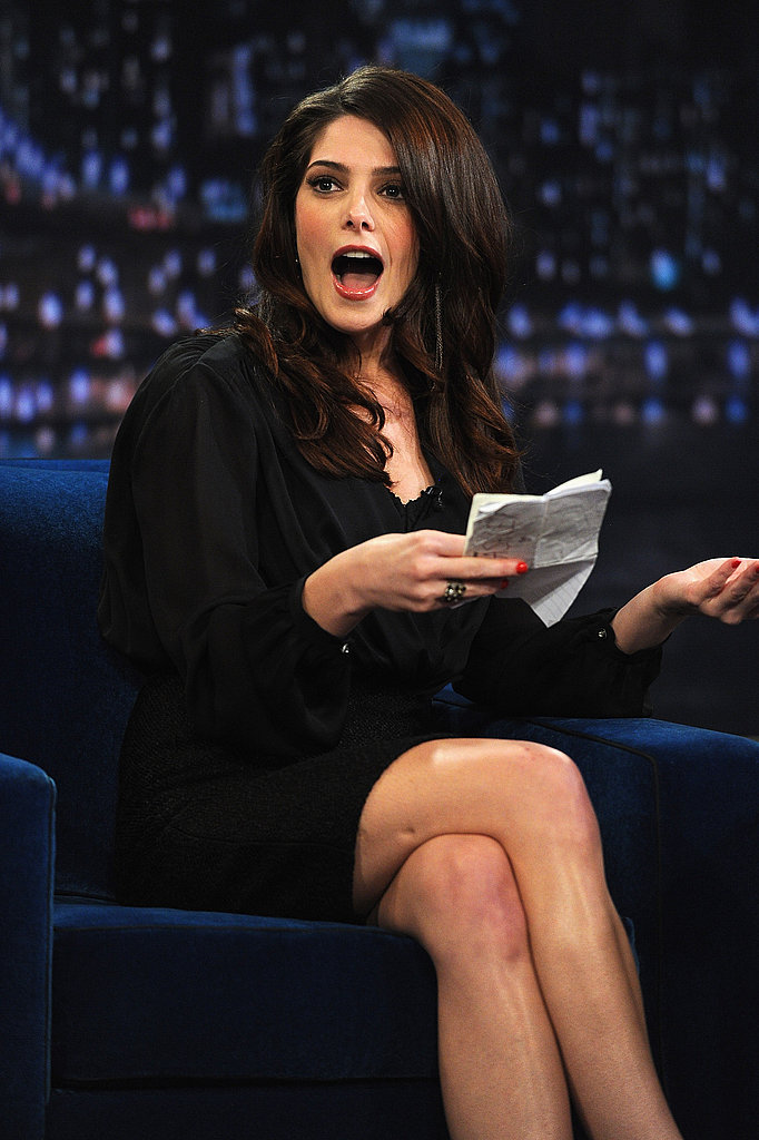 Ashley Greene was shocked.