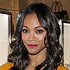 The Secret to Zoe Saldana's Signature Shiny Waves