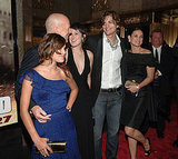 In 2007 Demi and Ashton joined Bruce Willis at his premiere of Live Free or Die Hard.