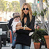 Rachel Zoe Carrying Skyler in LA Pictures