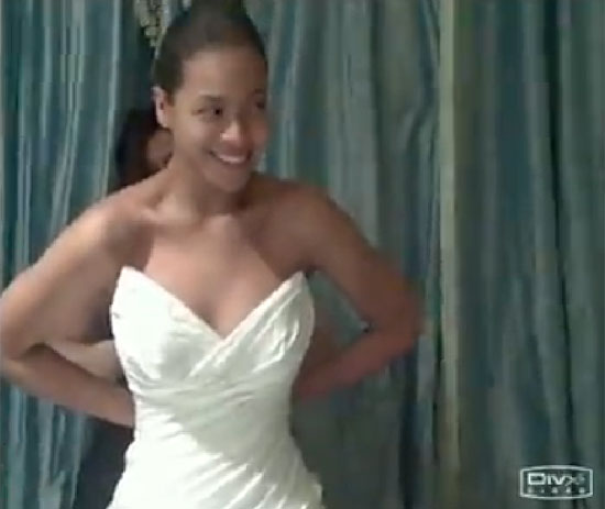 Beyoncé Knowles finally revealed her wedding gown from her 2008 ceremony with Jay-Z!