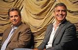 George Clooney and Beau Bridges shared the stage at a screening of The Descendants.