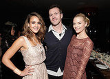 Jessica Alba and Jaime King at a dinner in LA.