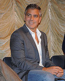 George Clooney enjoyed his co-stars' responses.