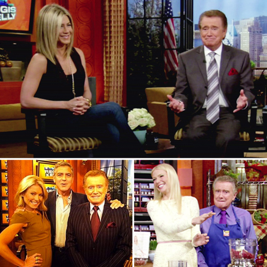 Farewell Regis — Celebrate His Retirement With a Look Back at His A-List Guests!