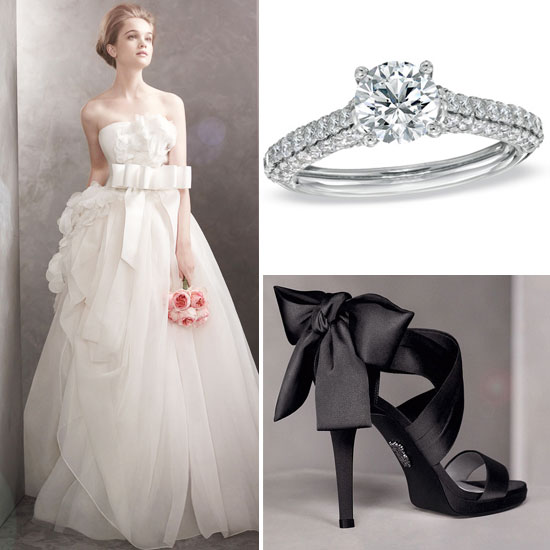 See the White by Vera Wang Spring '12 Collection — Plus Her New Engagement Ring Line For Zales