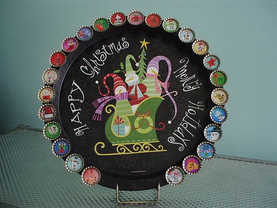 Bottle Cap Advent Calendar ($50)