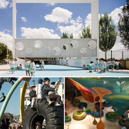 12 Super Amazing Playgrounds From Around the World