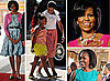 She's Not Accompanying Obama To Australia, So We're Commiserating with Pictures of First Lady of America Michelle Obama's Style