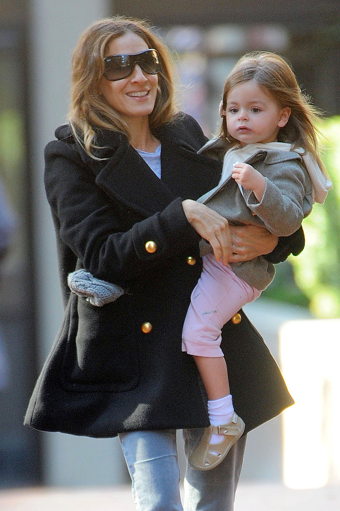 Sarah Jessica Parker spent her Friday with Tabitha Broderick.