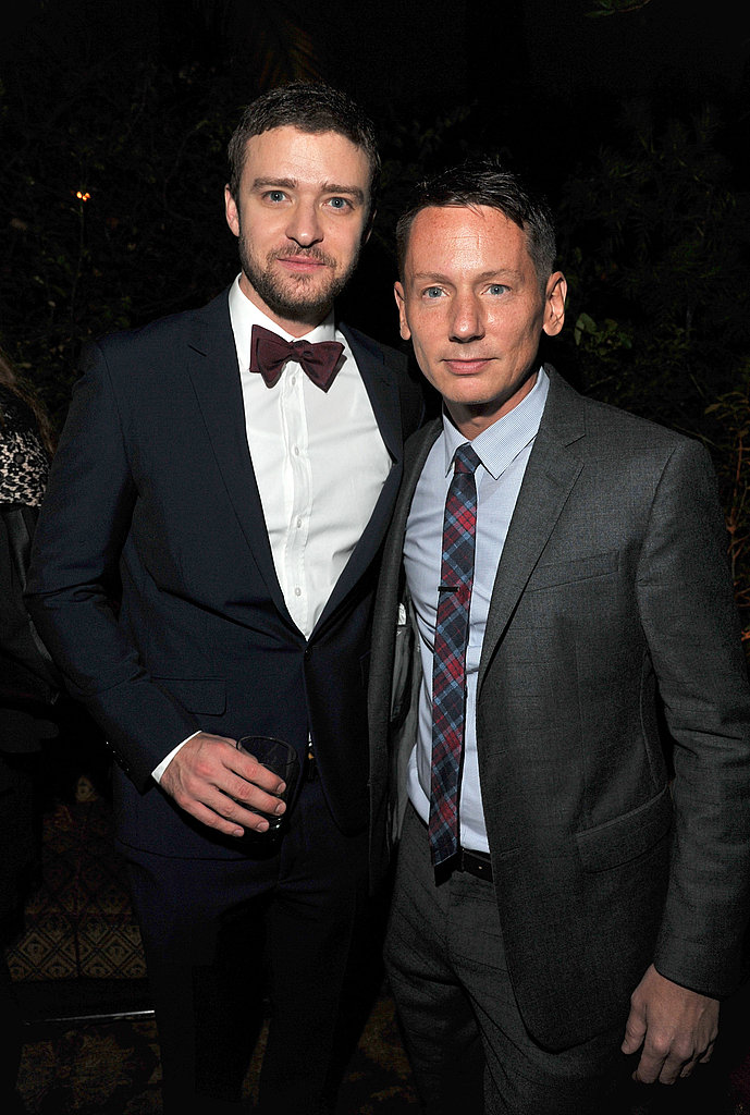Jim Nelson posed with GQ honoree Justin Timberlake.