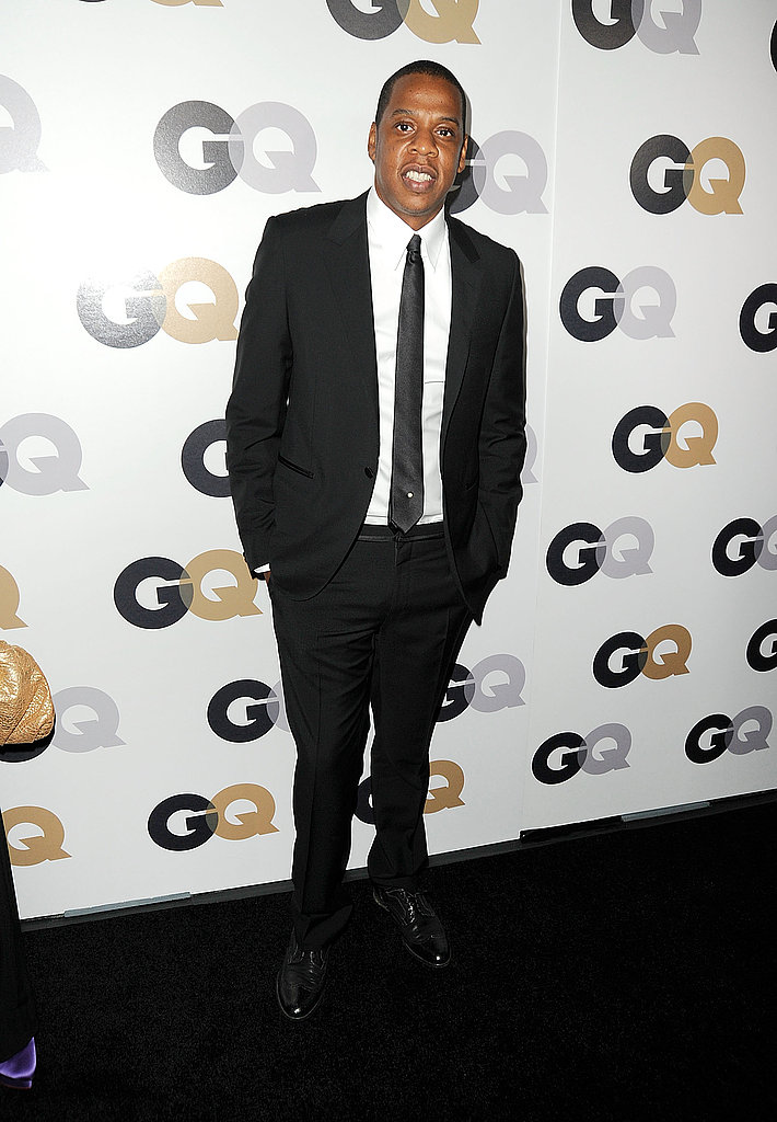 Jay-Z looked dapper at GQ's Men of the Year party.