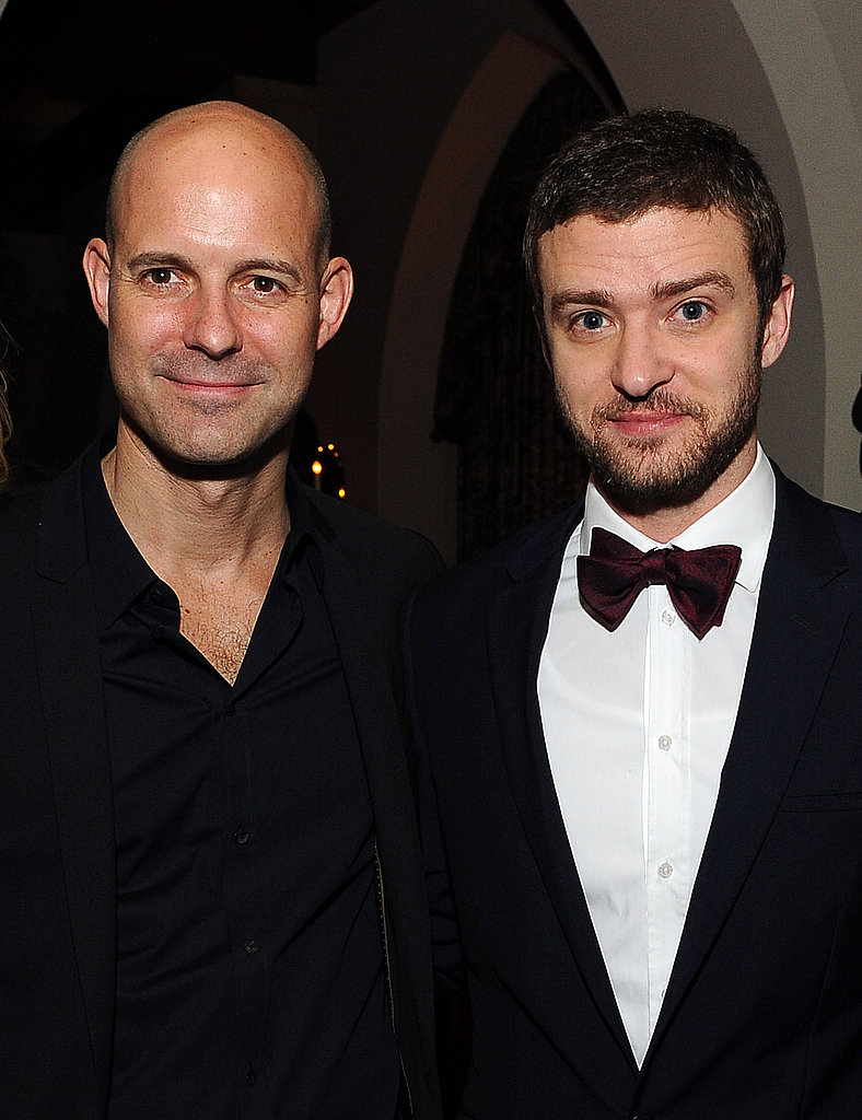 Chris Mitchell and Justin Timberlake partied at the Chateau Marmont.