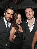 Rose McGowan, Michael Fassbender, and Eli Roth had fun together in LA.