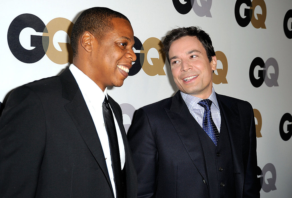 Jay-Z and Jimmy Fallon congratulated each other on their GQ honors.