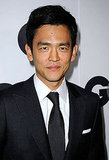 John Cho looked handsome in LA.