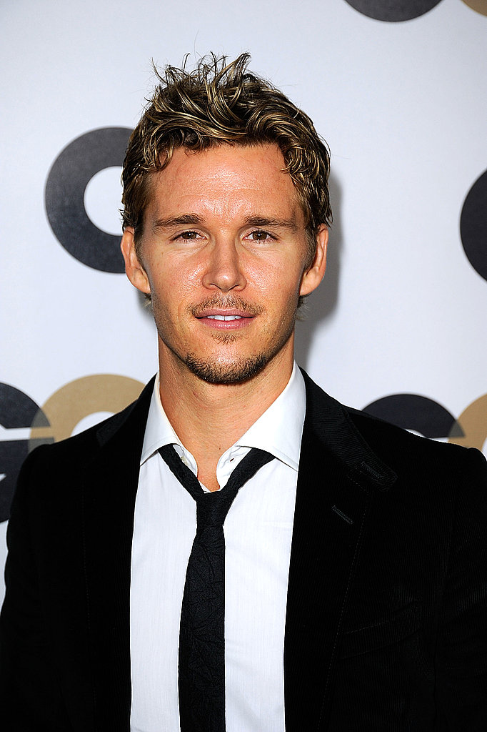 Ryan Kwanten loosened his tie at GQ's Men of the Year awards.