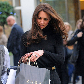 Kate Middleton Shopping at Zara Pictures